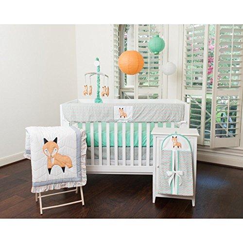 Pam Grace Creations 10 Piece Crib Bedding Set, Friendly Fox front-591689
