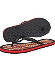 Puma Women's Lucie 2 Tribal Wn's Ind. Black, Dark Shadow and Hibiscus Rubber Flip-Flops and House Slippers -4...