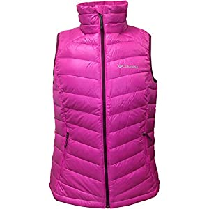 Womens Platinum 860 Turbodown Insulated Down Winter Vest Groovy Pink-650 Medium