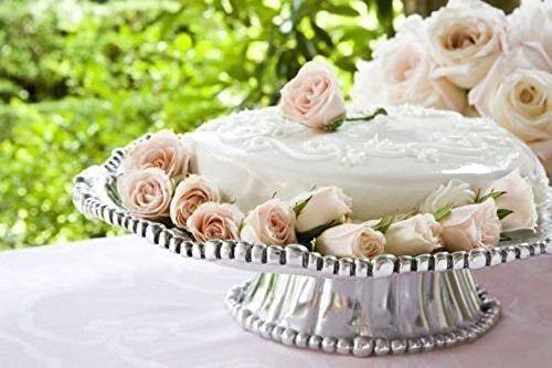 Beatriz Ball Handmade Aluminum Alloy Organiz Pearl Cake Pedestal Nova Plate (Beatriz Ball Pedestal compare prices)