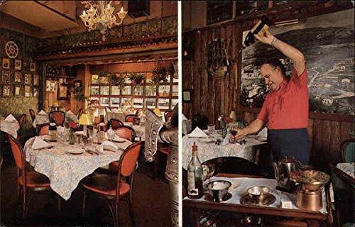 Old Spain Restaurant And Lounge Hollywood Florida Original Vintage Postcard
