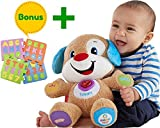 Fisher Price Laugh & Learn Smart スマート Stages Puppy | Babies Toys Learn Smart スマート Stages | Educational toys for toddlers Infants | With A Humble Bundle [並行輸入品]