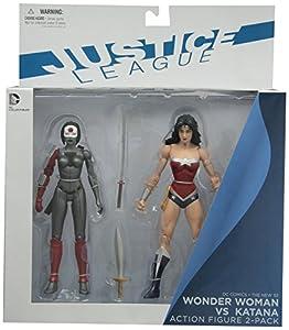 DC Collectibles DC Comics The New 52 Wonder Woman vs. Katana Action Figure, 2-Pack