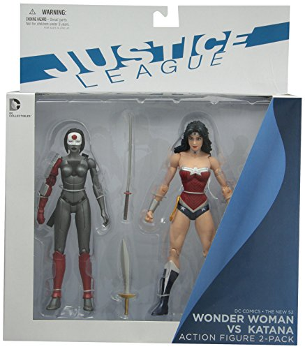 DC Collectibles DC Comics The New 52 Wonder Woman vs. Katana Action Figure, 2-Pack (Wonder Woman New 52 Figure compare prices)