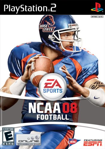 NCAA Football 08 - PlayStation 2 (Ncaa Football Ps2 compare prices)