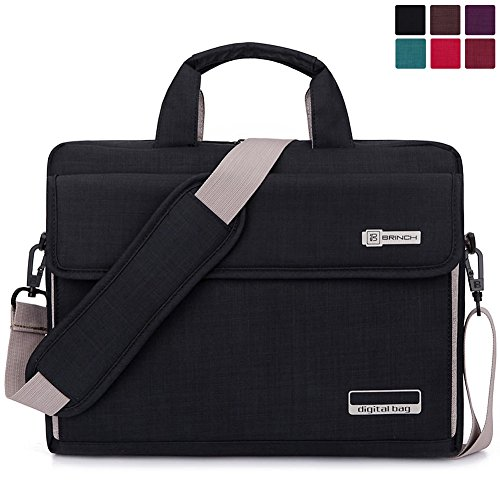 Best Price! Brinch Unisex Oxford Laptop Sleeve Messenger Shoulder Bag for 15 - 15.6-Inch Laptop / No...