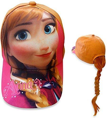 Disney Frozen Anna Baseball Cap With Ponytail - 1
