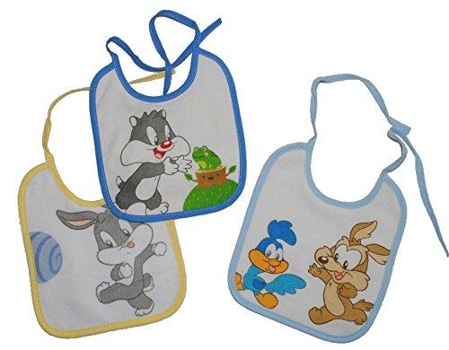 1-Stk-Babyltzchen-KLEIN-Looney-Tunes-Baby-aus-weichem-Frottee-Unten-mit-extra-Folie-beschichtet