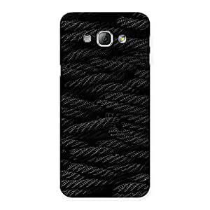 Cute Rope Pattern Back Case Cover for Galaxy A8