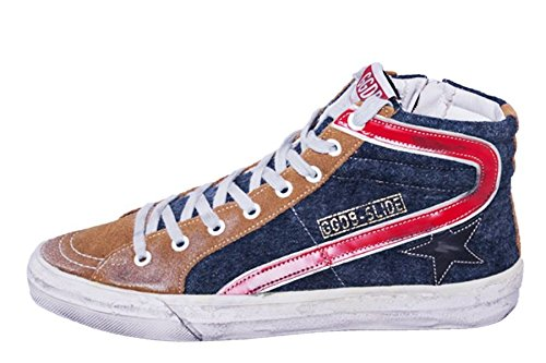 Golden Goose G23U595.E9 Cuoio, Indaco Wool, 45 MainApps