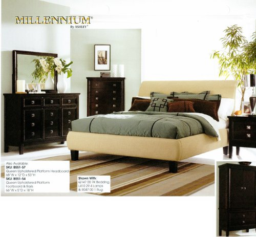 ASHLEY MARTINI SUITE 4 PIECE KING SIZE BEDROOM SET