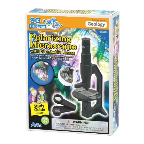 Polarizing Microscope Kit With Study Guide