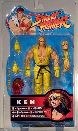 Picture of SOTA Sota Street Fighter Yellow Ken Action Figure (B000FR9FRC) (SOTA Action Figures)