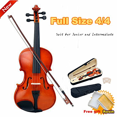 popamazing-new-4-4-antique-wood-violin-full-size-natural-acoustic-violin-bow-rosin-carry-case