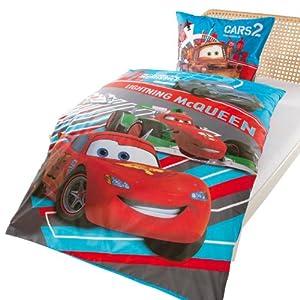 parure de lit enfant cars lightning jeux et jouets. Black Bedroom Furniture Sets. Home Design Ideas
