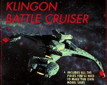 Make Your Own Klingon Battle Cruiser (Star Trek: All)