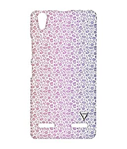 Vogueshell Junk Food Printed Symmetry PRO Series Hard Back Case for Lenovo A6000