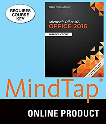 MindTap Computing for Vermaat/Freund/Hoisington/Schmieder/Last/Pratt/Sebok/Starks' Shelly Cashman Series Microsoft Office 365 & Office 2016: Introductory, 1st Edition