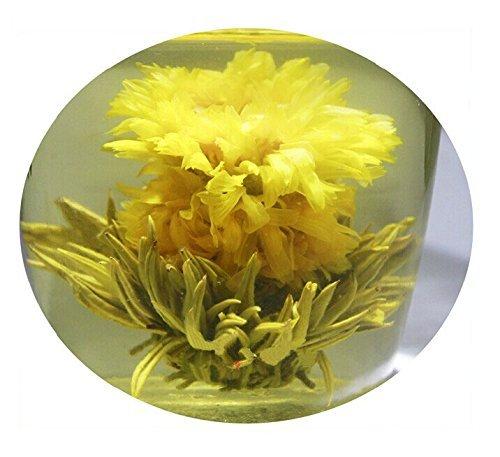 Be Oneself Fresh Flavor Natural Craft Flower Tea Blooming Jasmine Flower Tea Herb Ball Day Day Higher Positioon Set Of 10 100G Unique Healthy Tea