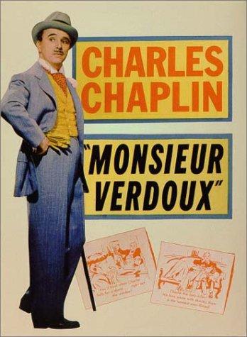 movie poster of Charlie Chaplin in Monsieur Verdoux