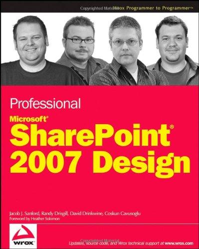 Professional SharePoint 2007 Design