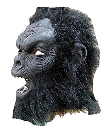 Black Gorilla Monkey Animal Halloween Masquerade Party Cosplay Latex Mask 2014