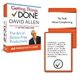 img - for Getting Things Done Productivity Cards book / textbook / text book