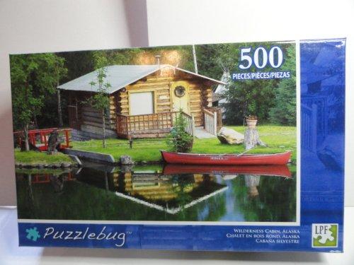Puzzlebug Wilderness Cabin, Alaska 500 Piece Jigsaw Puzzle - 1