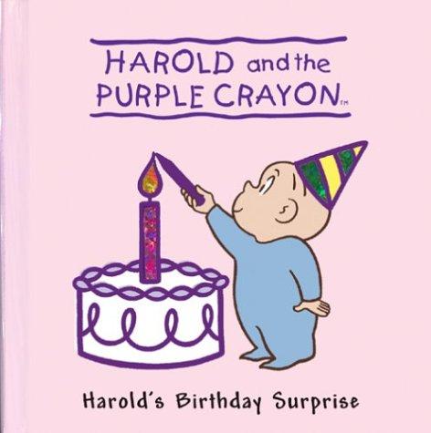 Harold's Birthday Surprise (Harold & the Purple Crayon) (Harold Purple Crayon Board Book compare prices)