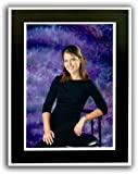 Cardboard Photo Easel Frame - 5x7 - Pack of 50 Black and White