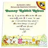 Bunny Rabbit Rebus (0140507752) by Adler, David A.