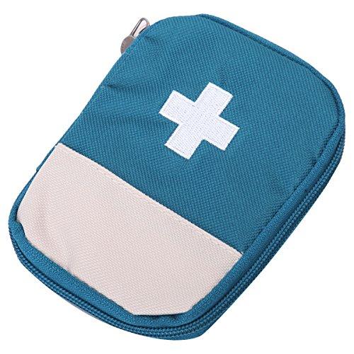 Eshow-Nylon-Verbandtasche-Reiseapotheke-Arznei-Tasche-1395cm-Blau