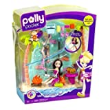 Polly Pocket Island Adventure Campsite Playset