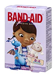 Band-Aid Adhesive Bandages Doc McStuffins - 20 CT Pack of 3