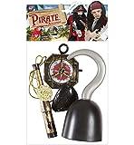 Kit accessoires pirate - Taille Unique