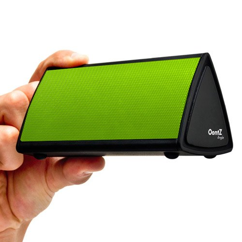 The Oontz Angle Ultra-Portable Wireless Bluetooth Speaker. Better Sound, Better Volume, Incredible Online Price - The Perfect Speaker To Take Everywhere With You This Summer (Lime)