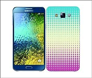 Galaxy Printed 2130 Halftones Cream Hard Cover for Samsung Core Prime