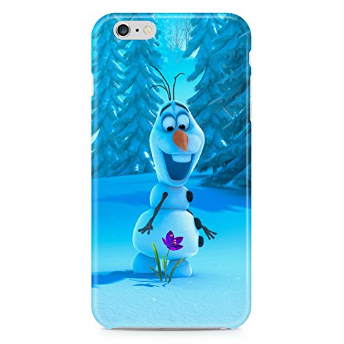 Frozen Olaf Hard Plastic Snap Case Cover For Iphone 6 Custodia