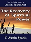 img - for The Recovery of Spiritual Power book / textbook / text book