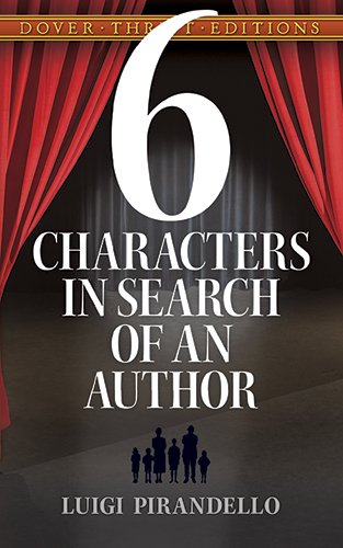Six Characters in Search of an Author (Dover Thrift...