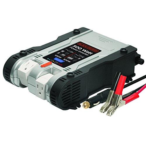 Black & Decker PI500P 500W Power Inverter (Black And Decker Power Inverter compare prices)