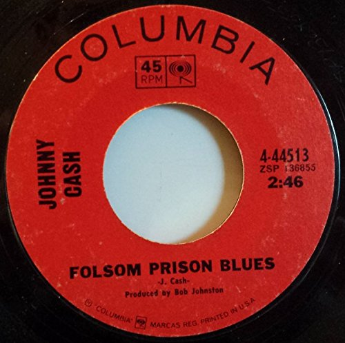 Johnny Cash - Folsom Prison Blues / The Folk Singer 45 Rpm Single - Zortam Music