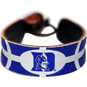 Buy Duke Blue Devils Team Color Basketball Bracelet by GameWear