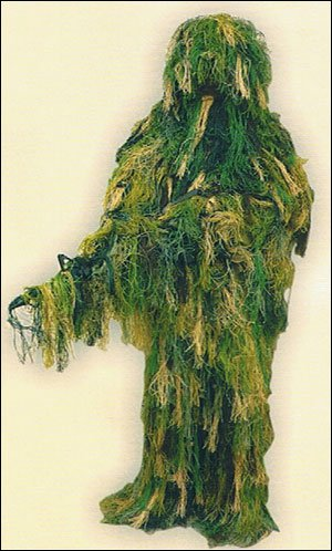 Sniper Hunter Camouflage Ghillie Suit Hunting Paintball