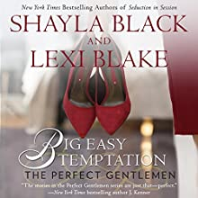 Big Easy Temptation: The Perfect Gentlemen Audiobook by Shayla Black, Lexi Blake Narrated by Kaleo Griffith