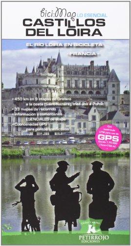 Castillos del Loira en bicicleta (Bicimap (petirrojo))