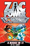 Zac Power Extreme Missions: 4 Books In 1