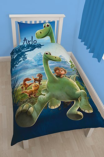 Character-World-Disney-Parure-de-couette-Le-Voyage-dArlo-Multicolore-Lit-simple
