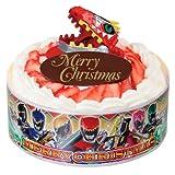 獣電戦隊キョウリュウジャー キャラデコクリスマス (いちごケーキ) 5号サイズ ※12/22~23にお届けいたします