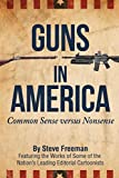 Guns In America: Common Sense versus Nonsense (Black and White Edition)